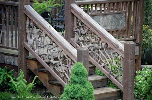 stair hand rails beautiful decks and will have. Black Bedroom Furniture Sets. Home Design Ideas