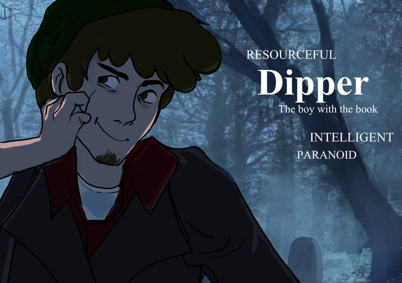 Dipper the boy with the book | Gravity falls | Gravity ...