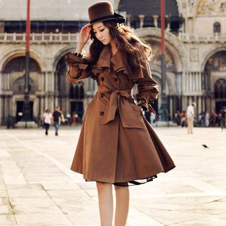 trench coat dress - Google Search | trench coat.. | Pinterest ...