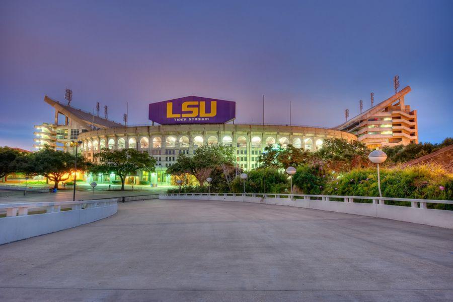 LSU Tiger Stadium by Todd Landry, via 500px