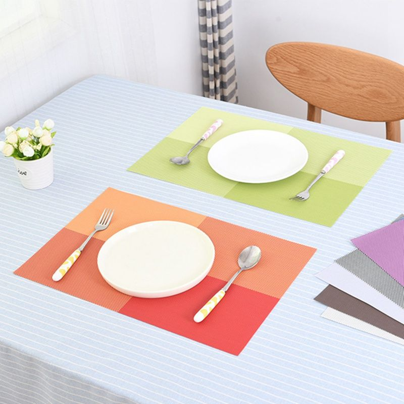 Dining Table Mat Heat Insulation Non Slip Placemats Disc Pads Bowl Tableware Pad Coaster Kitchen Accessories A Dining Table In Kitchen Table Mats Dining Table
