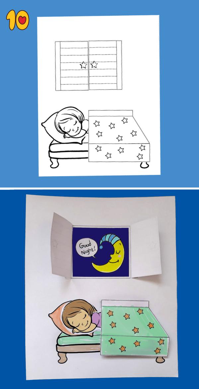Good Night Printable Craft