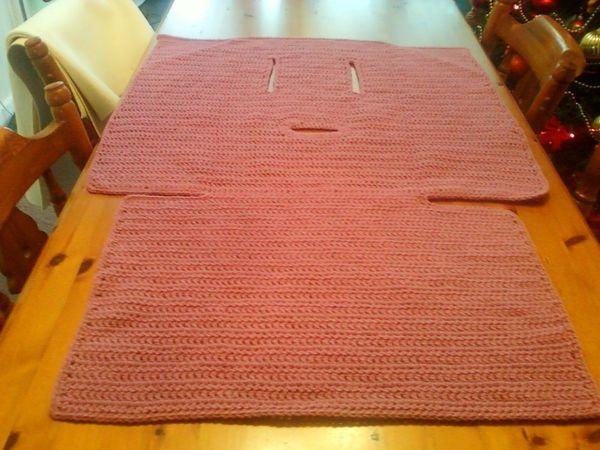 Car Seat Blanketbunting Knits Crochete Pinterest Car Seat
