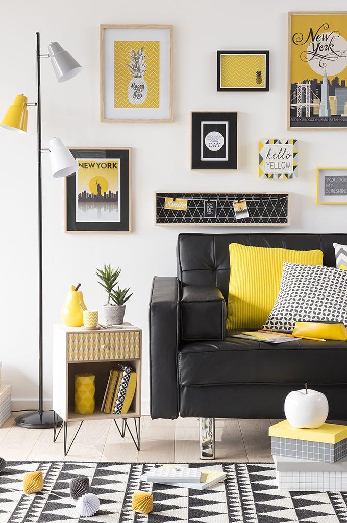 la d co graphique c 39 est aussi une question d 39 agencement entre les meubles cadres luminaires. Black Bedroom Furniture Sets. Home Design Ideas
