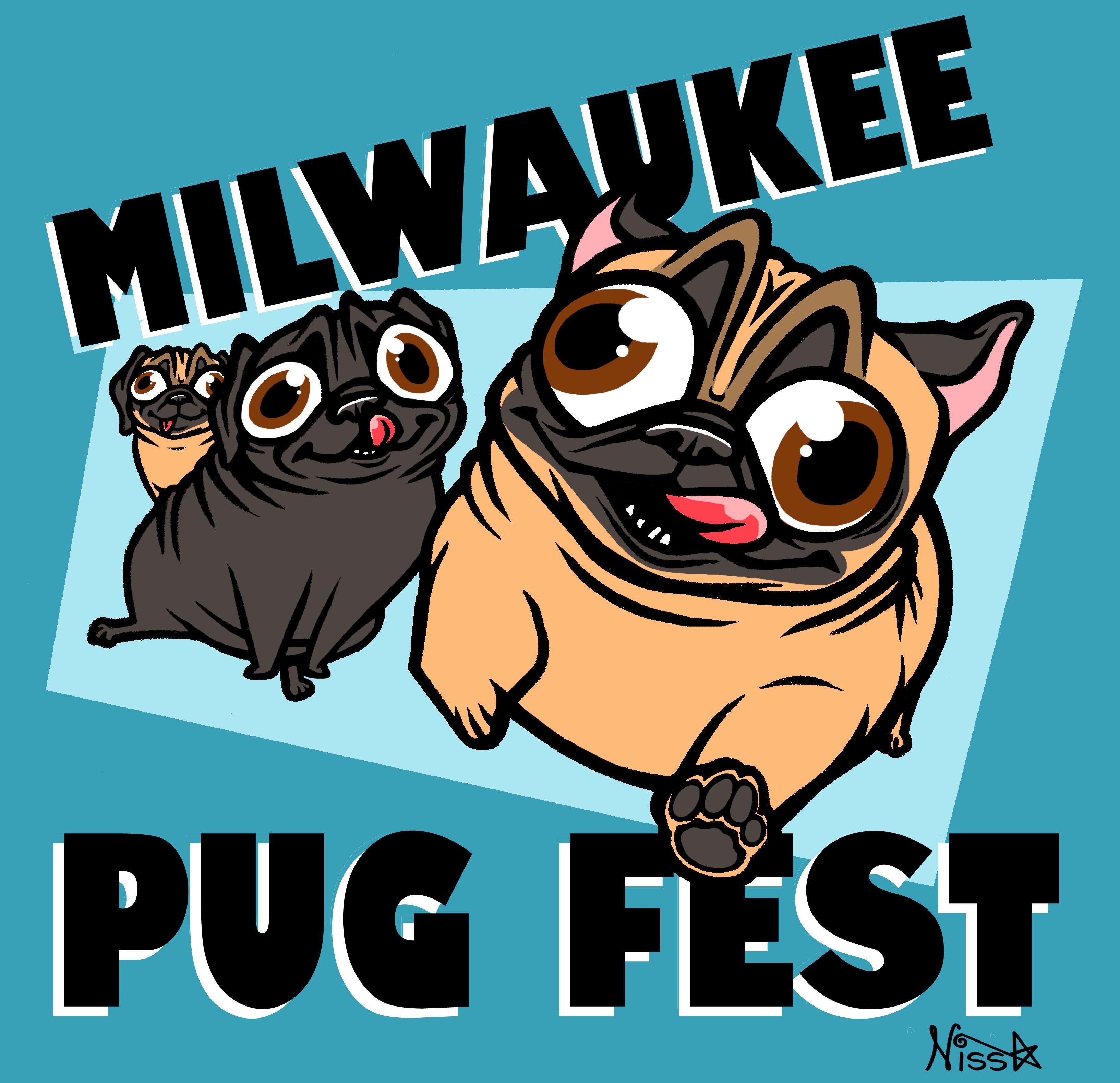 2017 Milwaukee PugFest   Pugs just being pugs   Pugs, Fat