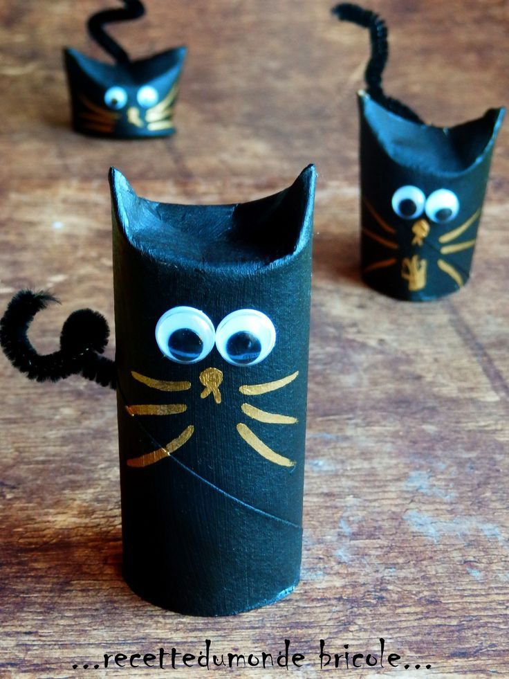 Cat Toilet Paper Roll Craft