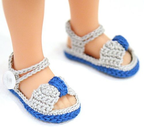 """Doll Clothes fits 18/"""" American Girl White Gladiator Summer Sandals Shoes"""