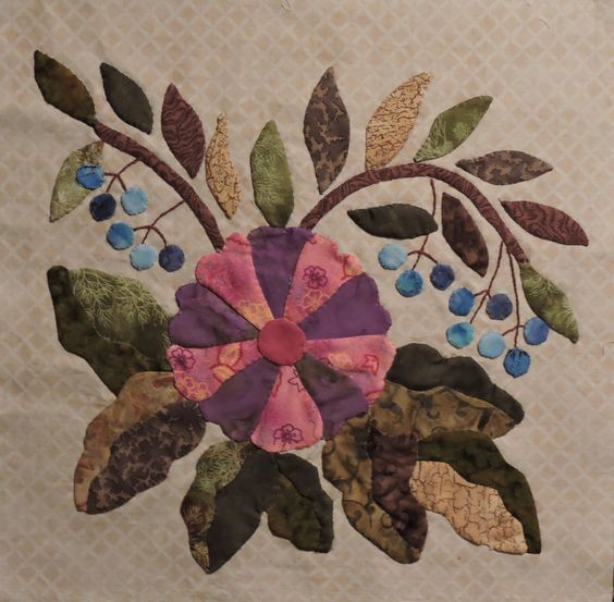 Block from Mom's Caswell Quilt - 2014: