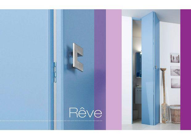 Les portes de placard pliantes Rêve prêt à peindre sont disponibles - couleur des portes interieur