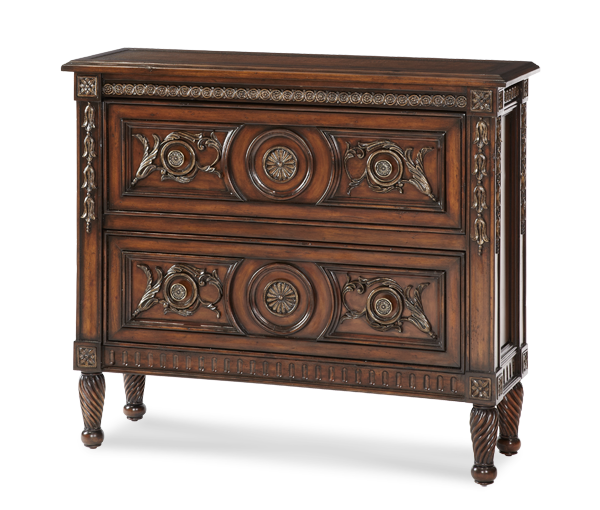 2-Drawer Accent Chest | Discoveries - | Michael Amini Furniture Designs | amini.com