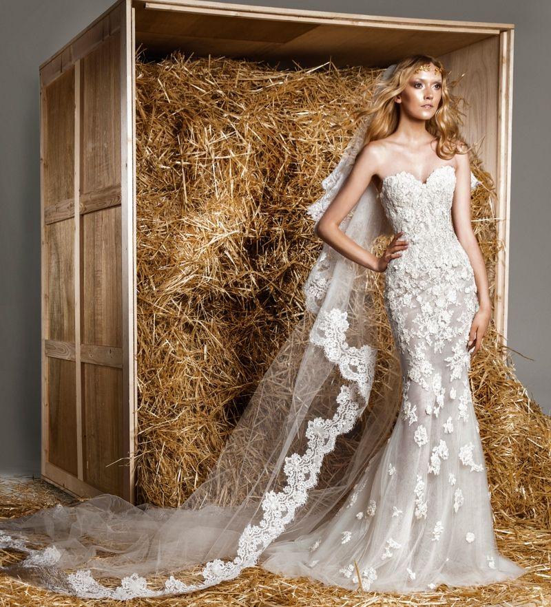 Zuhair Murad Presents a Modern Fairytale for Spring 2015 Bridal Collection - ou meu vestido de noiva se eu casar um dia