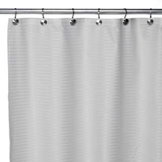 Pinstripe Premium Fabric Shower Curtain Liner 70 X72 Assorted