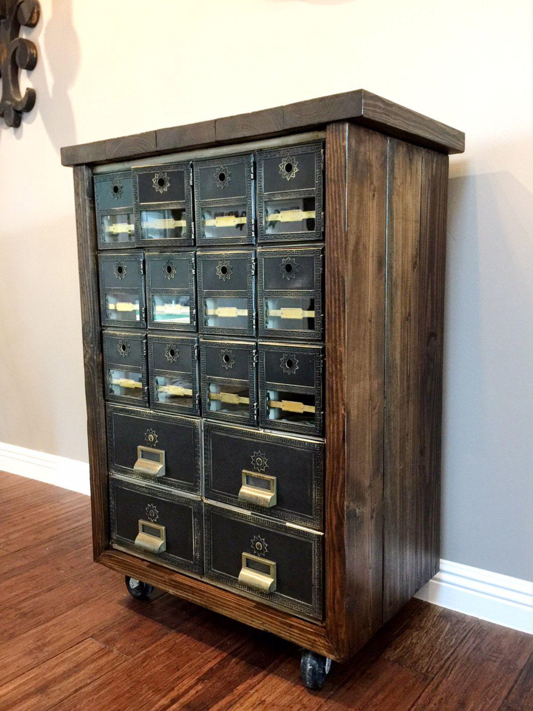 Vintage Post Office Box
