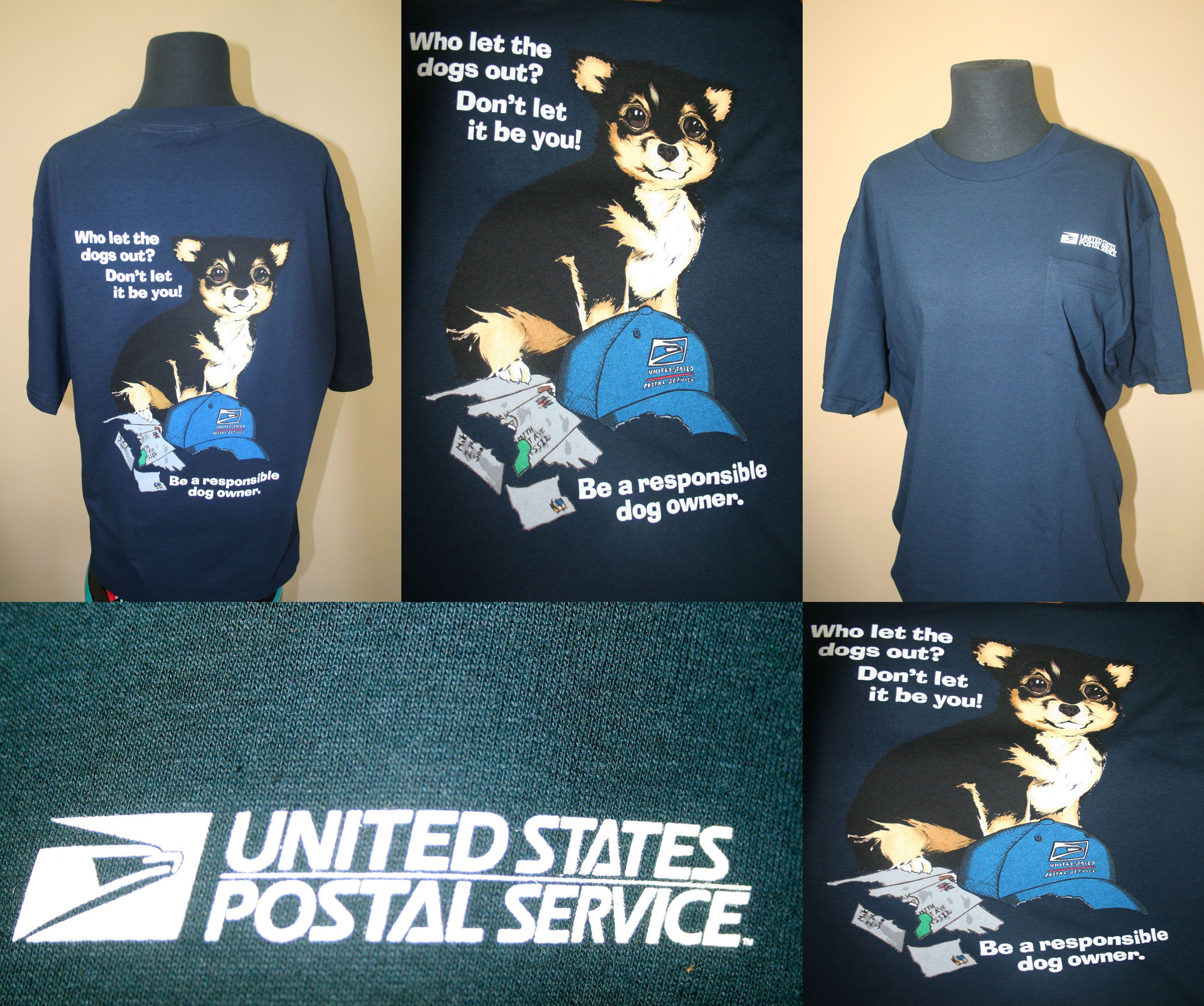 Screen Printed Tees for US Postal Service tshirt