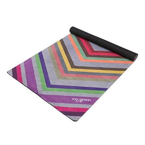 The Combo Yoga Mat LITE. Luxurious Non-slip Combo Mat/Towel Designed to Grip the More You Sweat! Two Products in One (Mat/Towel). 1.5mm thick Foldable Reversible Machine Washable Eco-Friendly Biodegradable Materials. Ideal for Bikram Hot Yoga Pilates or Sweaty Practice. Includes Carrying Strap. Money Back Guarantee.