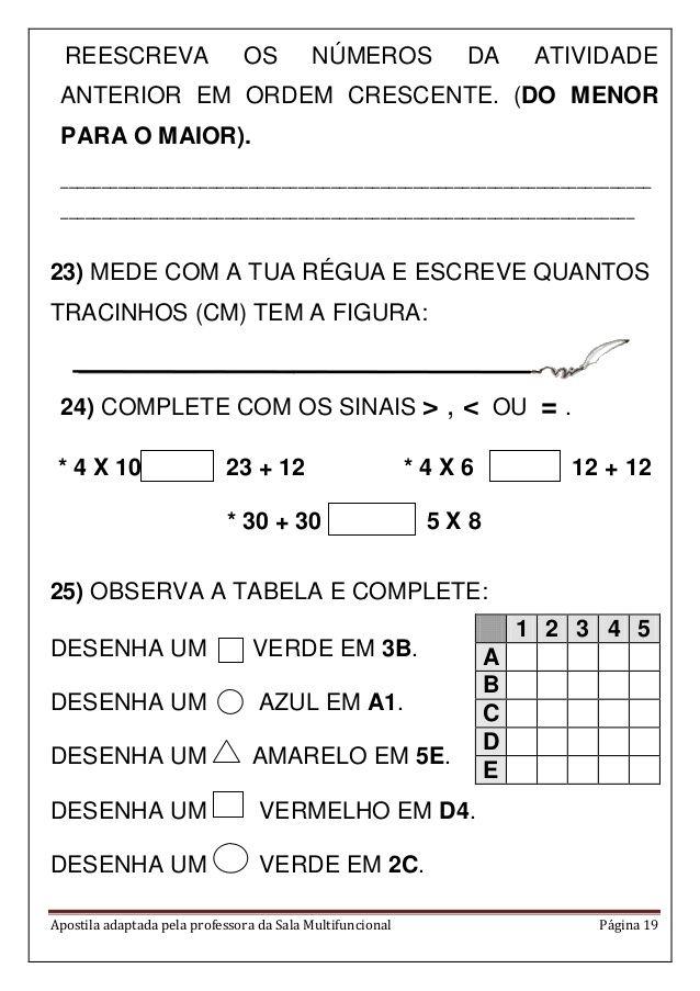 Apostila Matematica Em Pdf Com Imagens Olimpiada De Matematica