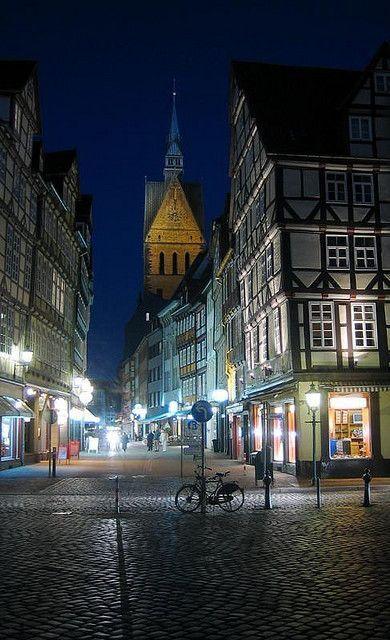 Hannover Altstadt, Niedersachsen, Northern Germany ...