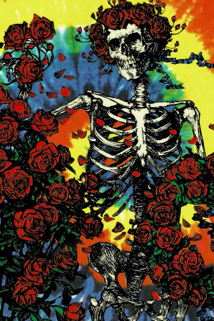 Grateful Dead Tie Dye Bertha Sticker In 2021 Grateful Dead Wallpaper Grateful Dead Grateful Dead Music