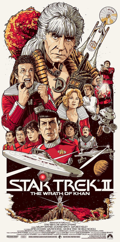 Star Trek Ii Wrath Of Khan 1982 750 X 1500