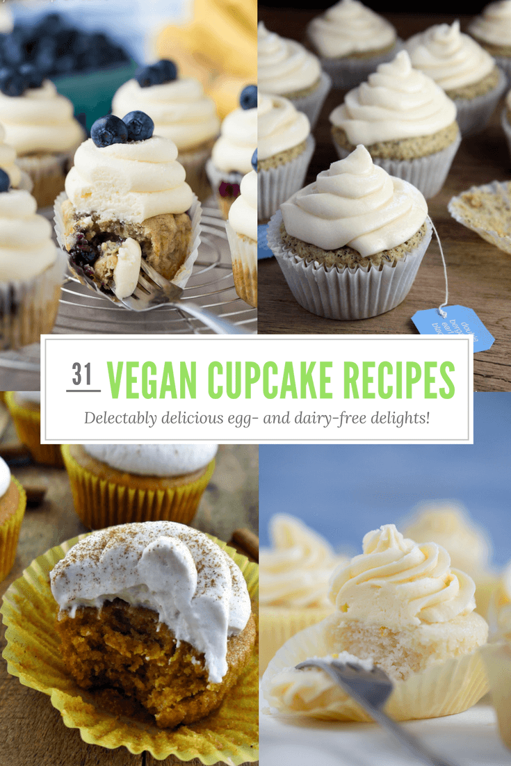31 Delightfully Delicious Egg And Dairy Free Cupcake