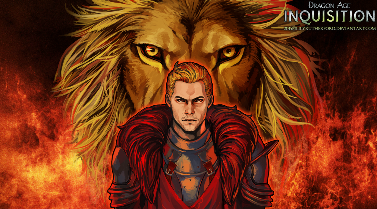 Lilyrutherfordblog The Lion Of Ferelden Cullen Rutherford