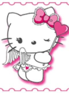 75a76e741 hello kitty angel images | Wallpaper for cellphone Hello Kitty Angel ...