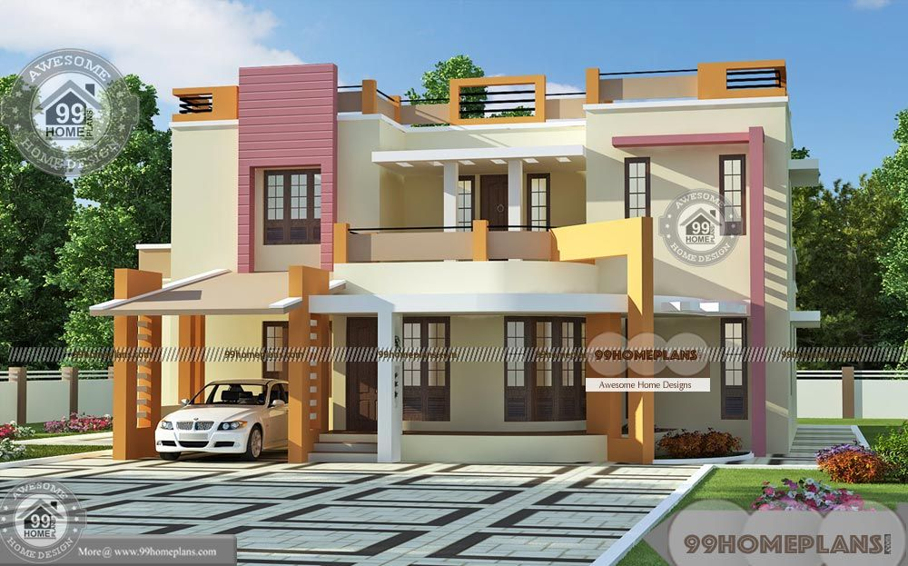 Chief Architect Home Designer With New Modern 2 Story Villa Plan Most Beautiful Stunning Collection Chief Architect Kerala House Design Home Building Design