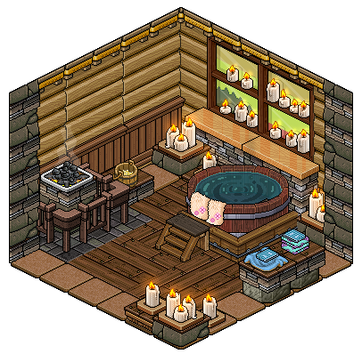 Mountain House Sauna By Cutiezor On Deviantart With Images