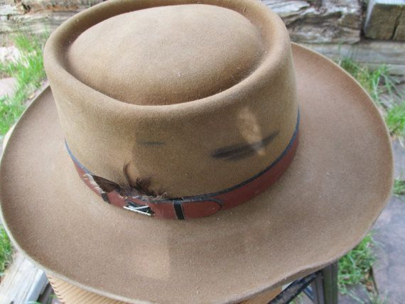 05722bc12b8 Vintage Stetson Hat The Gun Club by Stetson by goingcrystal