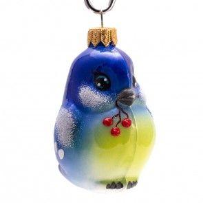 Bird Titmouse Christmas Ornament
