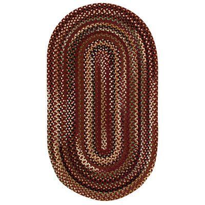 "Capel Bangor Cinnamon Area Rug Rug Size: Concentric Runner 2'3"" x 9'"
