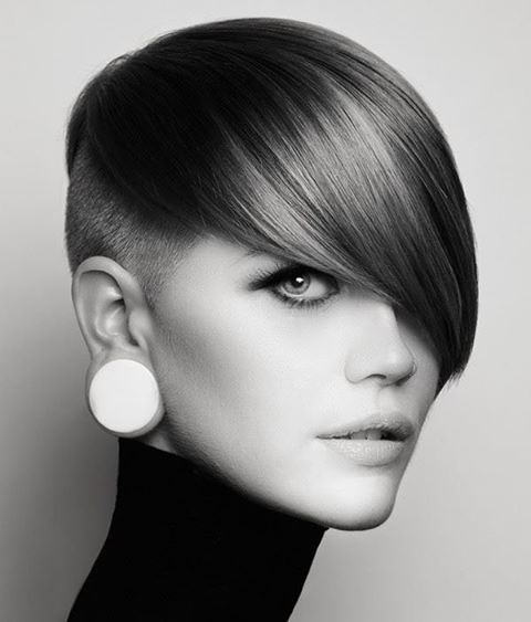 styling really hair asymmetric style buzzed awesome asymmetric pixie s 1722