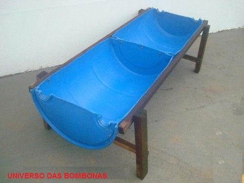 Plastic water trough for your cattle fun ideas