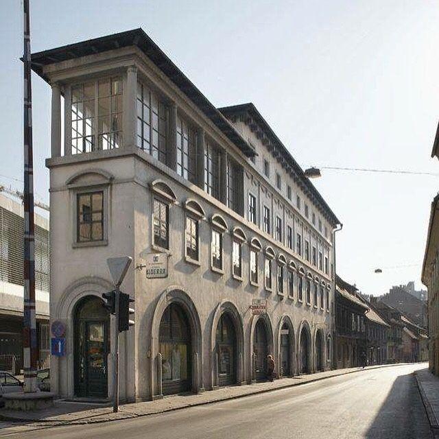 Peglezen Ljubljana Slovenia Joze Plecnik 1932 1934 Traditional Architecture Spanish Architecture Architecture