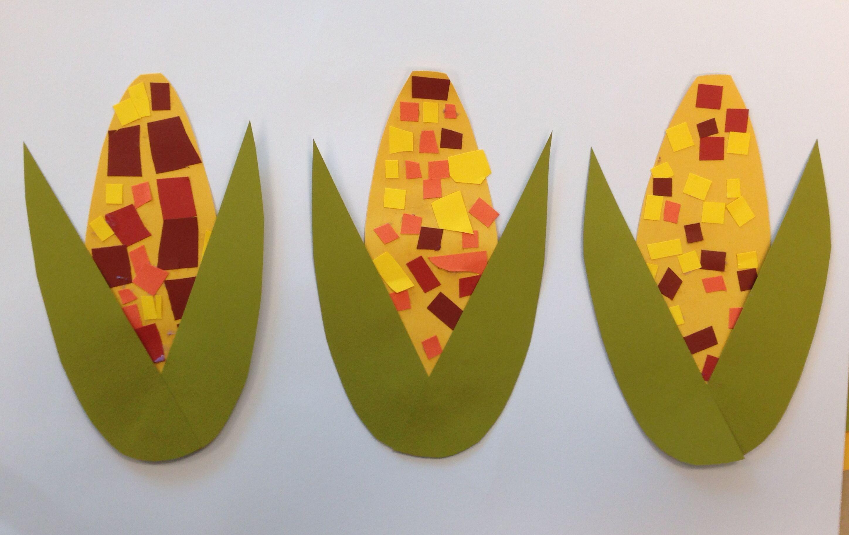 Harvest Craft Ideas For Kids Part - 17: Harvest Crafts For Kids Harvest Corn - Scissor
