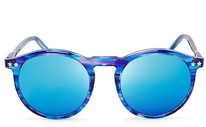 Pin for Later: The Ultimate Summer Sunglasses Guide Colored Sunglasses Wildfox Couture Steff Deluxe Mirror Sunglasses($179)