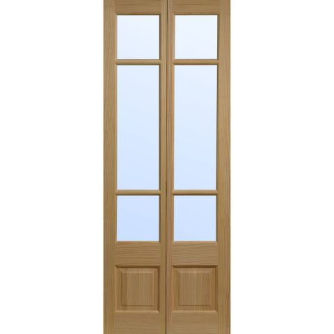 Elsdon clear pine glazed bifold interior door doorsworld house elsdon clear pine glazed bifold interior door doorsworld bifold interior doorsinternal french planetlyrics Image collections