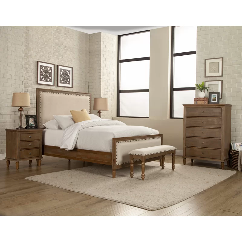 Shirke Standard 5 Piece Bedroom Set With Images 5 Piece Bedroom Set Bedroom Set Wood Bedroom Sets