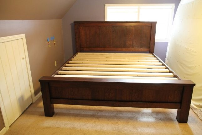 King Size Bed Frame Diy Plans How To Build
