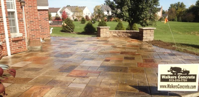 Nice Walkers Concrete LLC   Stamped Concrete Patio Ideas Stamped .