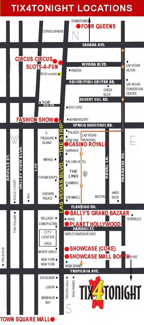 circus circus las vegas strip map Pin On Disappear A While circus circus las vegas strip map