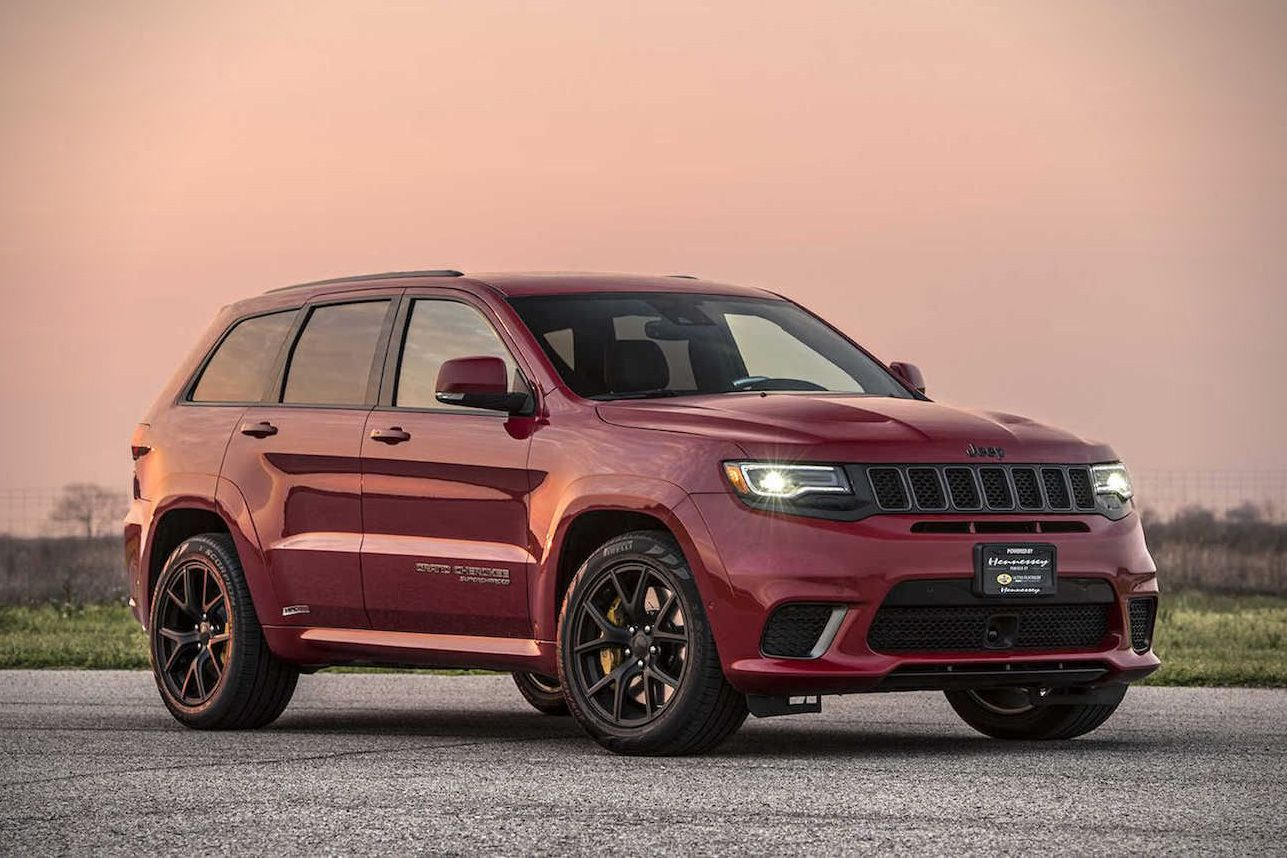 Hennessey S Jeep Grand Cherokee Trackhawk Is A 1 012 Hp Hellcat