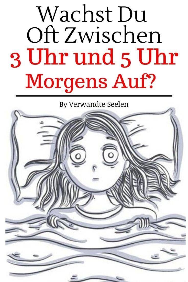 Wachst du in der Nacht immer wieder auf? Dies mag der Grund dafür sein... - Verwandte Seelen,  #auf...