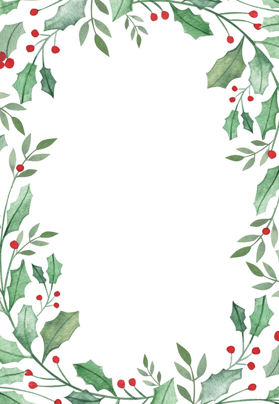 It is a picture of Sizzling Free Printable Christmas Borders