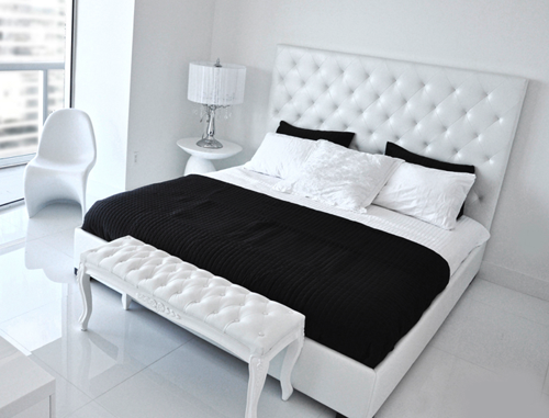 Best The Modern Baroque Bed From Modani Contemporary Bedroom 400 x 300