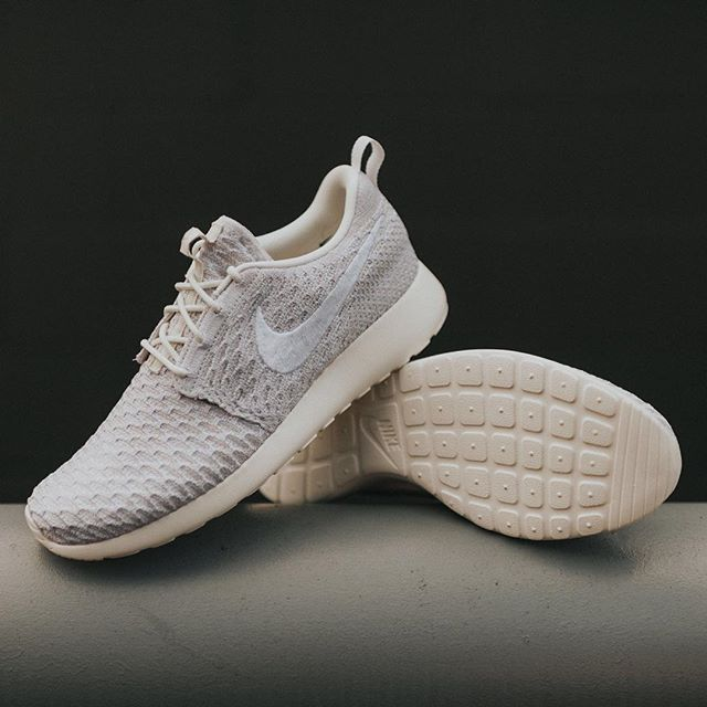the latest 1985c 06c94 Nike WMNS Roshe One Flyknit (Sail White-String) -  120 Available at