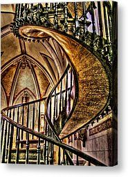 The amazing staircase at Loretto Chapel in Santa Fe