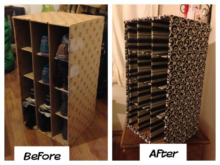 Ideal diy cardboard shoe rack - Google Search | For the Home | Pinterest  KP95