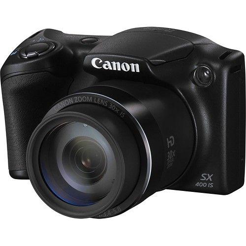 Best Buy Canon Powershot Sx400 Is 16 0 Megapixel Digital Camera Black 9545b001 Canon Powershot Powershot Digital Camera
