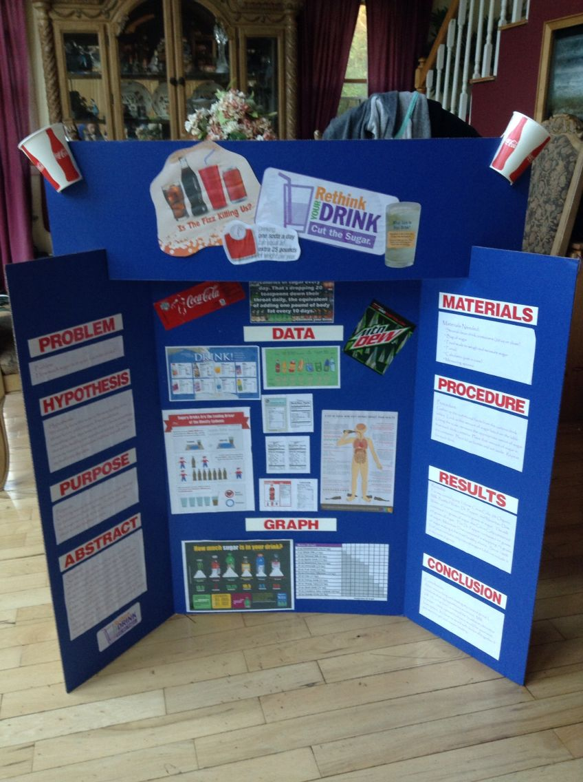 Rethink Drink. 5th Grade Science Fair Project Diy